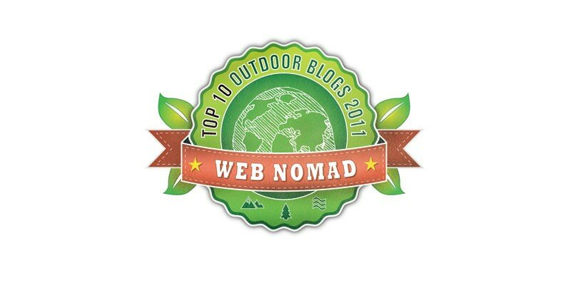 Top 10 Outdoorblog-Award bei nomadearth.com