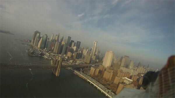 NYC: RC-Flight-Panorama und Snowskiing